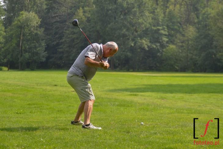 Gra w golfa w Pszczynie