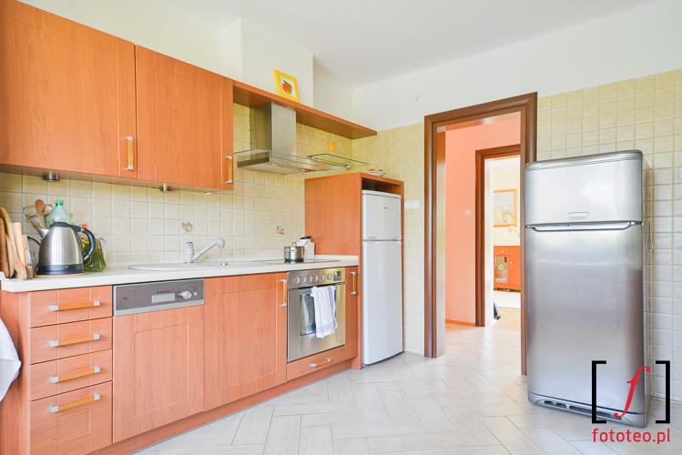Fotografia kuchni w domu jednorodzinnym