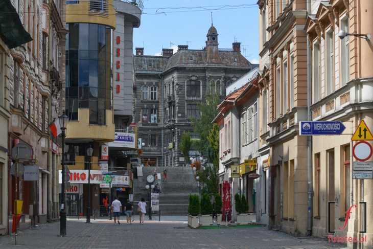 Fotografia ul.11 listopada wBielsku-Białej