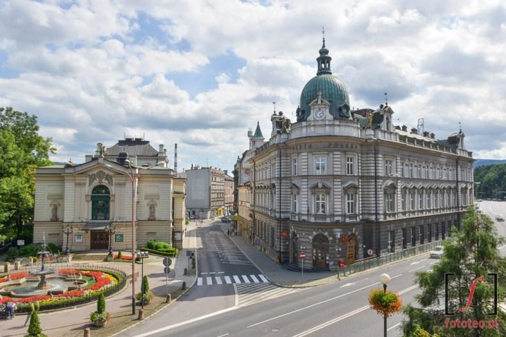 Teatr Polski i Poczta Polska. Fotograf Bielsko