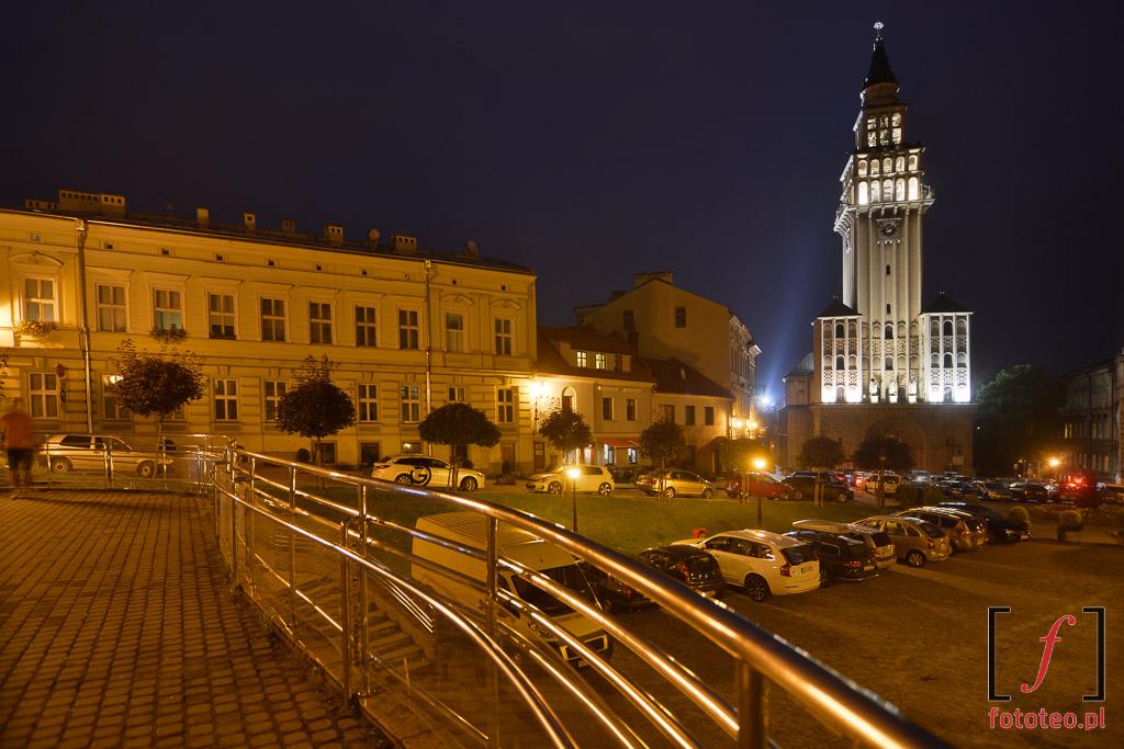 Fotograf Bielsko Biala: plac i katedra sw. Mikolaja