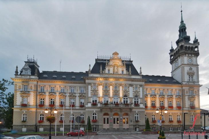 Ratusz w Bielsku-Białej. City hall in Bielsko
