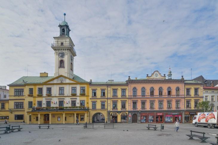 Fotograf Cieszyn. Architektura Cieszyna. Ratusz