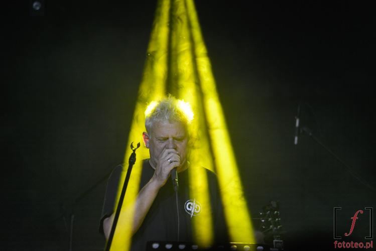 Kazimierz Staszewski podczas koncertu