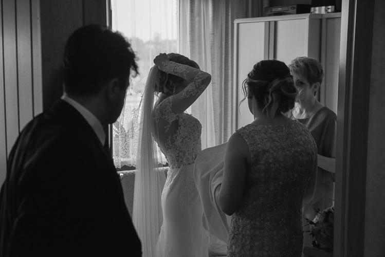 Przygotowania przed ślubem