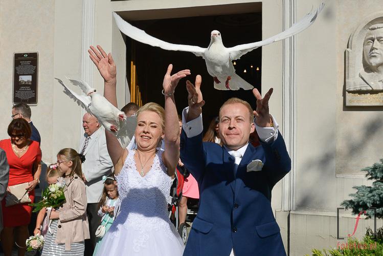 Dynamiczny reportaż śluby
