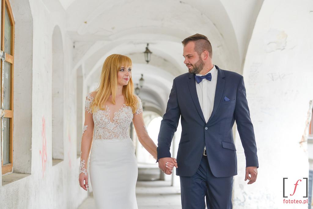 Podcienia Bielsko sesja ślubna