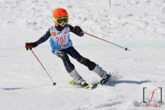 Fotografia sportowa zawody narciarskie