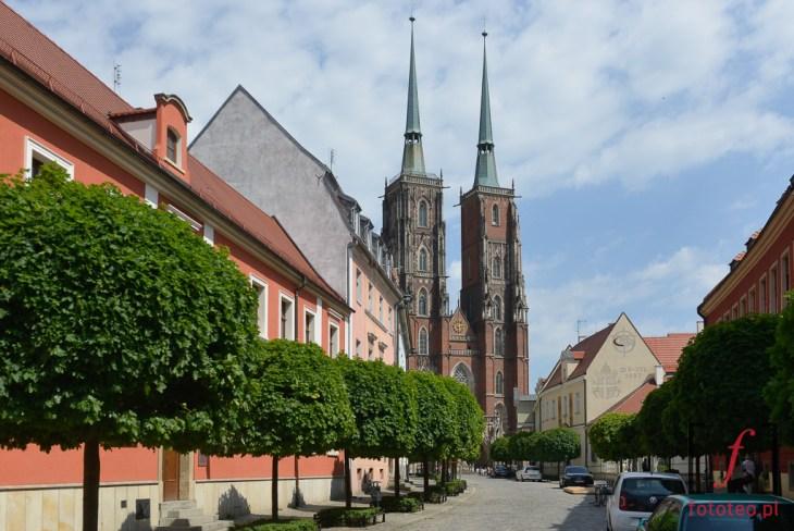 Archikatedra wroclawska na Ostrowie Tumskim