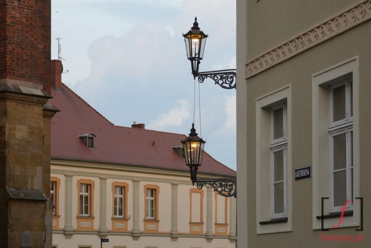 Lampy gazowe na Ostrowie Tumskim