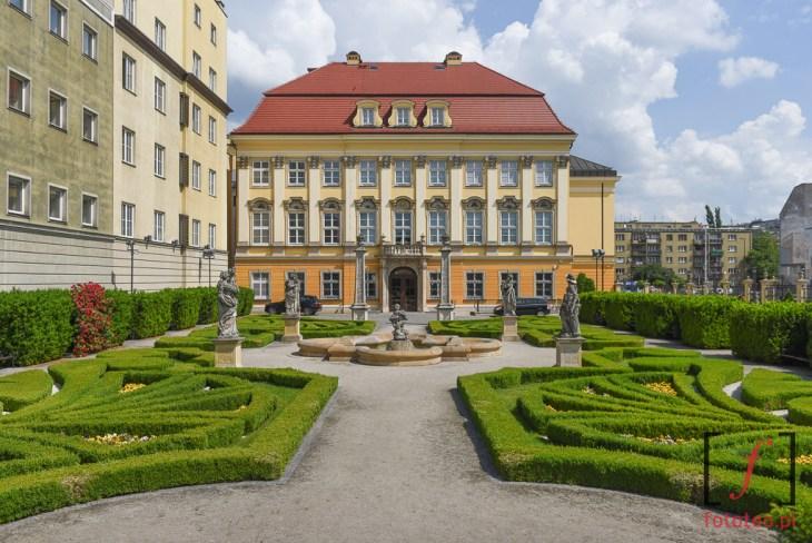 Ogród koło pl.Wolności Wrocław
