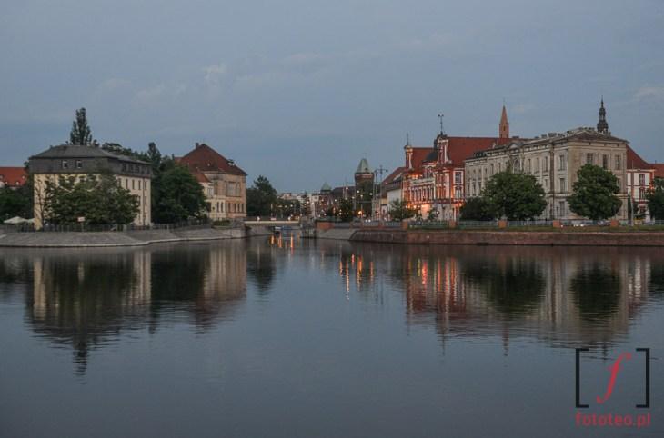 Fotografia Odra we Wrocławiu Tamka