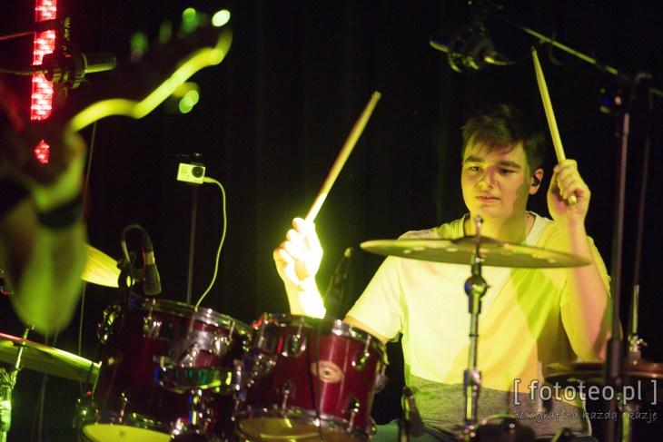 Perkusista Kuba Jagiełka