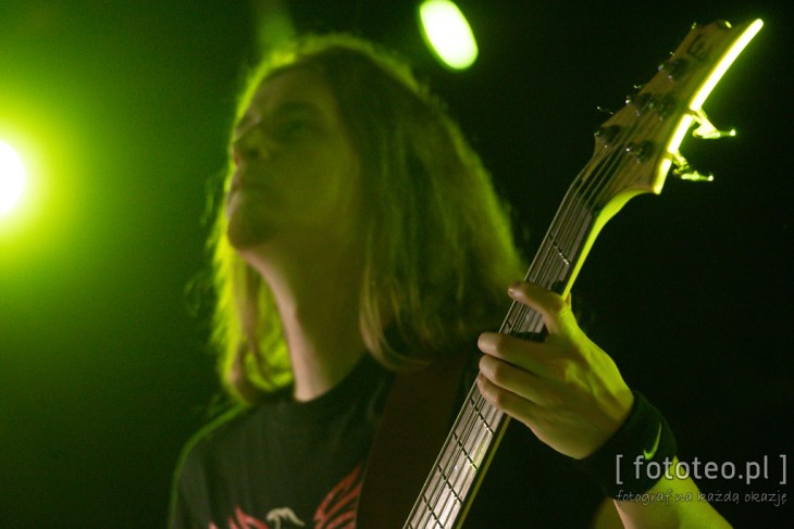 Gitarzysta na koncercie