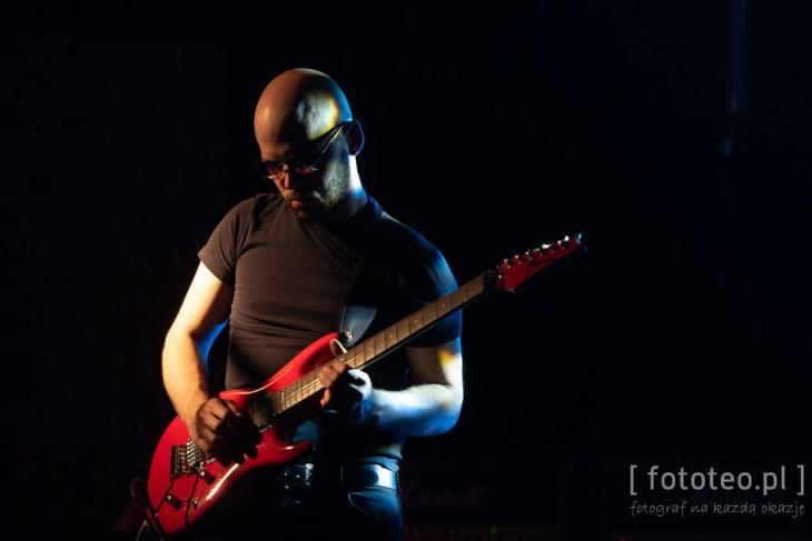 Guitarist Tomasz Madzia