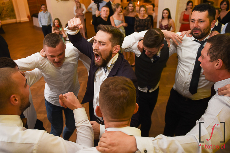 Emocje na weselu zabawa