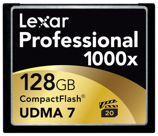 Tarjeta CF Lexar 1000x