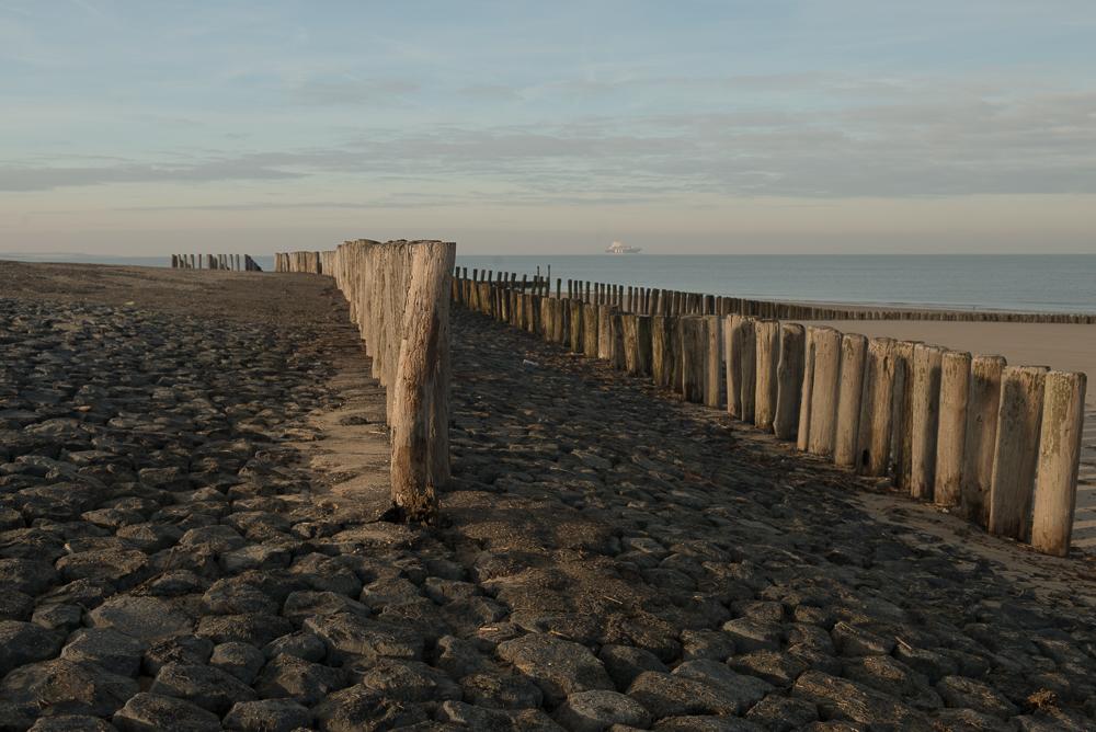 Strandhoofden bij Nieuwesluis