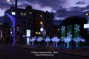 Bogota Colombia - Carrera Quinze in the Blue Hour