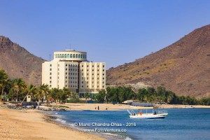 Khor Fakkan, UAE: Hotel Oceanic on Arabian Sea