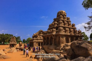 Mahabalipuram, India: 7th Century AD Pancha Rathas