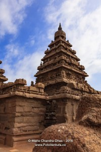 Mahabalipuram, India - 1300 Year Old Shore Temple in Granite