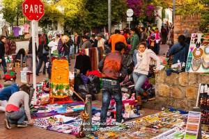 Bogota, Colombia - Mercados de los pulgas in Usaquén