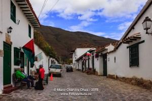 Colombia, South America - Calle 14 in Villa de Leyva