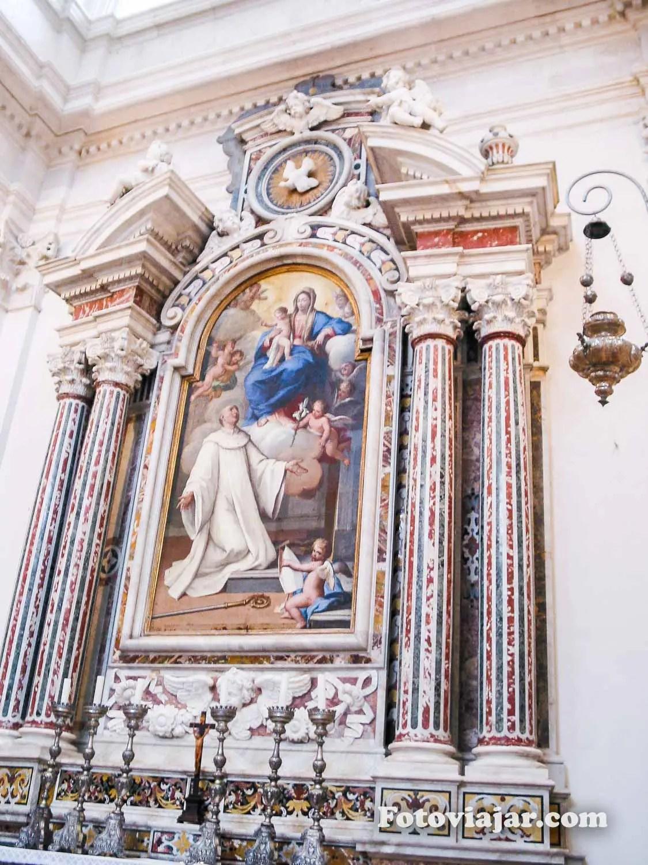 interior igreja dubrovnik