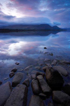Bassenthwaite loch canvas art