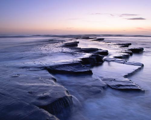 kimmeridge bay english channel kathy white