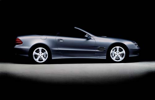 mercedes sl canvas art picture