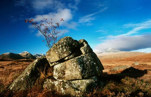 rannock rocks photograph