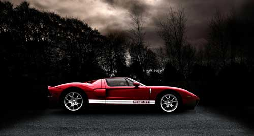 ford gt poster art