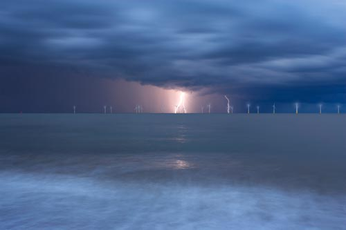 windfarm picture print