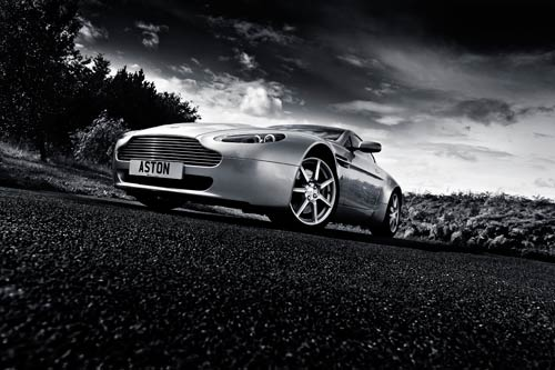 aston martin canvas picture