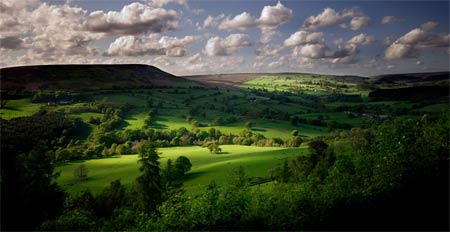 bilsdale yorkshire landscape