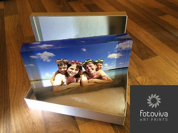 acrylic photo block frames