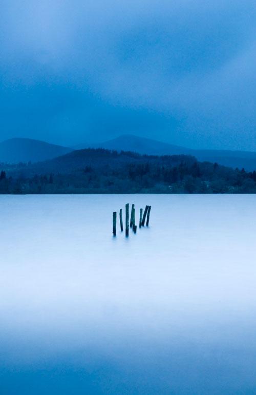 Derwentwater blue artwork
