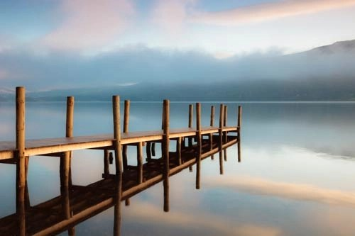 Photo of the Month - Jetty Reflections II