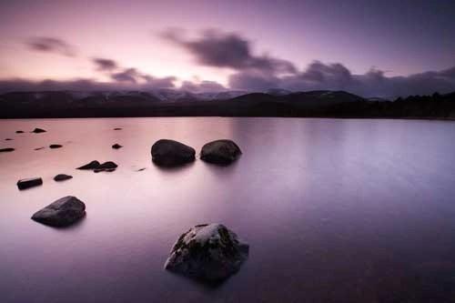 Loch Morlich and Cairn Gorm