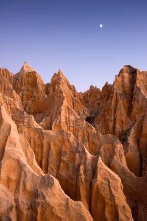 Cliffs Moonrise