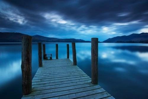 Twilight over Derwent Water