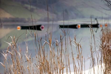 Fishing boats on a calm Tal Y llyn Nikon D800, 24-120 at 95mm, 1/20 sec @ f/5.6, ISO 100, tripod. © Simon Kitchin