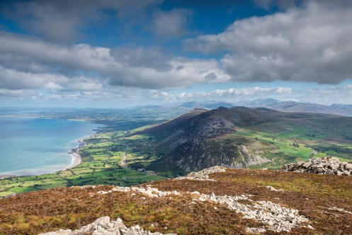 Looking north from the highest peak of Yr Eifl Nikon D800, 16-35 at 35mm, 1/100 sec @ f/11, ISO 100. © Simon Kitchin