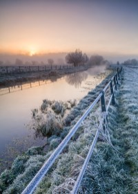 Hertford Marshes, Herts, Canon 5D Mark II, EF24-70mm, ISO100, 24mm, 1/4s at f/16, Tripod. © George Johnson