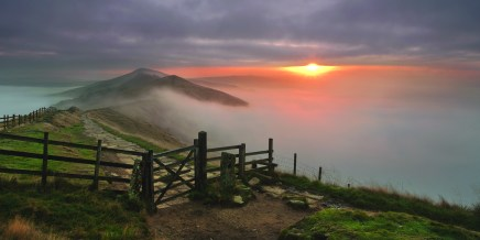 The Gate and a temperature inversion.© Chris Gilbert