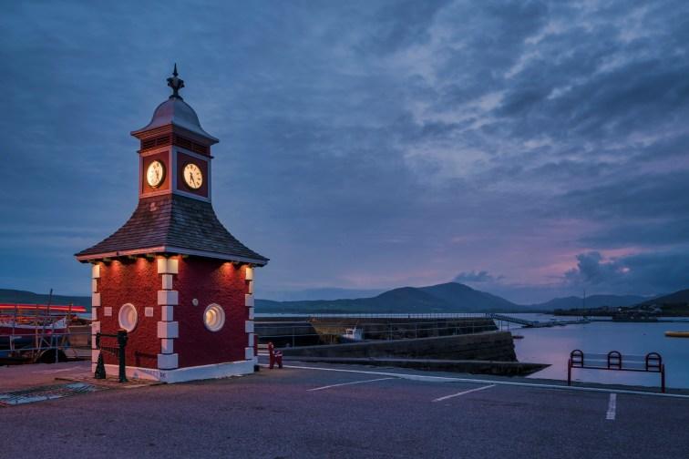 Knightstown Harbour, County Kerry, Ireland. Sony A7R II, Canon TS-E24mm f/3.5 II, ISO 100, 4s at f/16. Tripod. Aug. © Carsten Krieger