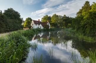 Willy Lott's cottage, Flatford.Summer 2015