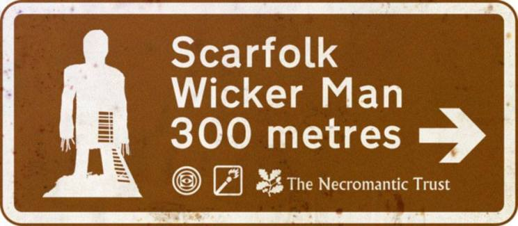 Scarfolk Wicker Man